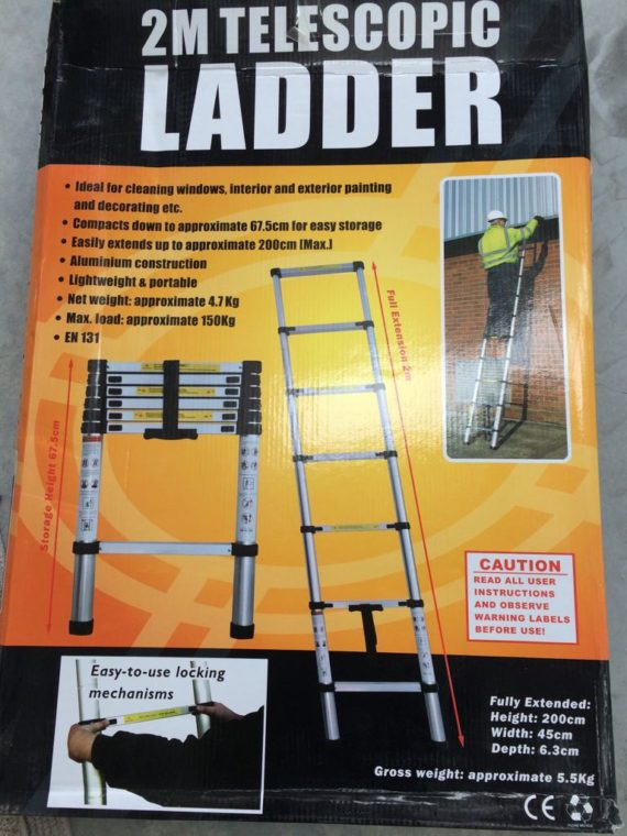 2mt telescopic ladder